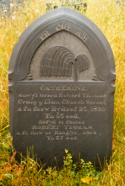 image of Robert Thomas's Gravestone