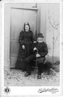 Photograph of Charles and Ellen Leicester